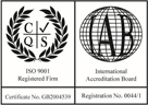 AM Safety Specialists are Accredited with BS ISO 9001